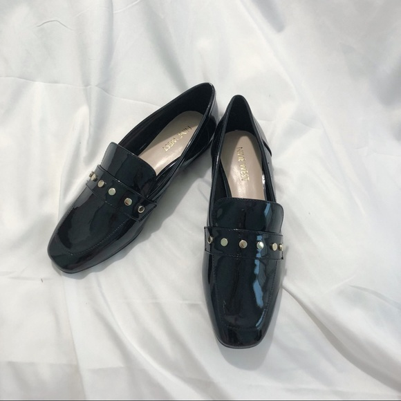 91d6932ee0a NWT Nine West XIAMARAO Black Loafer Flats Shoes 6M